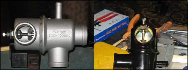 Готовые конструкции на двух термостатах разных производителей