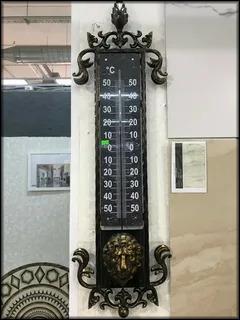 Один из вариантов уличного термометра