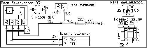 Схема ЭБН