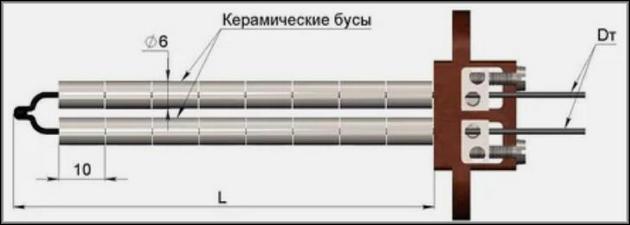 Электроды термопар