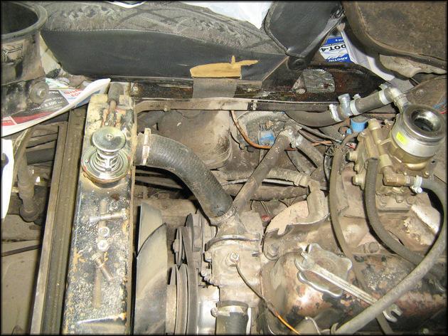 Термостат в двигателе