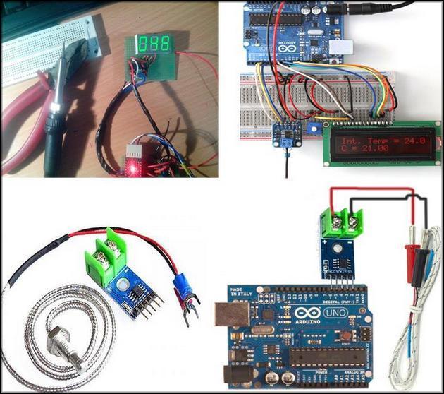 Готовые самоделки на Arduino с термопарой