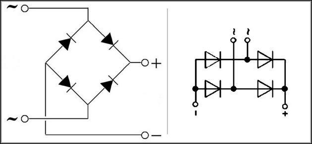 Первая – классическая схема, вторая аналогичная структурно