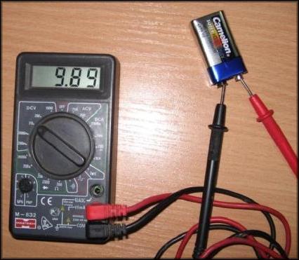 Измерение кроны мультиметром