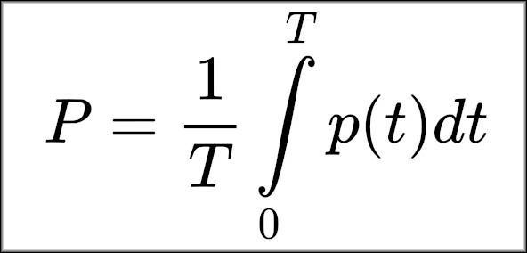 Формула активной мощности