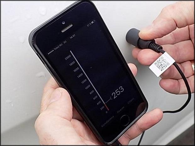Толщиномер для смартфона
