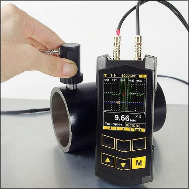 Замер ультразвуковым устройством