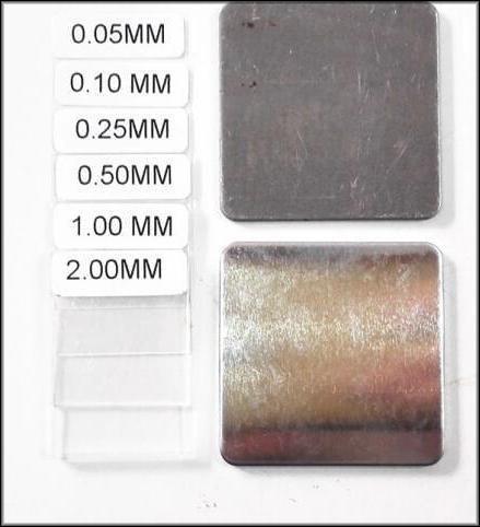 Калибровочный набор толщиномера