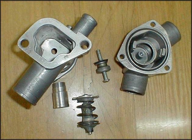Составные части термостат Ваз-2112