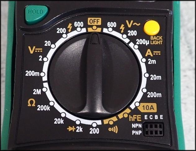 Мультиметр табло Mastech MAS830L