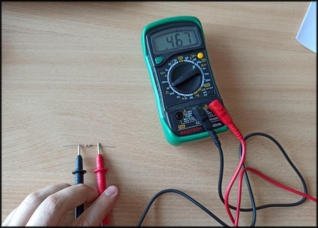 Мультиметр измерения Mastech MAS830L