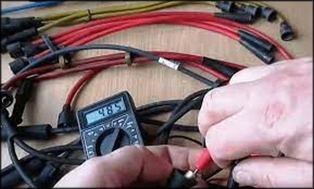 Проверка силовых проводов