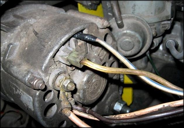 Отключить генератор от электроцепи