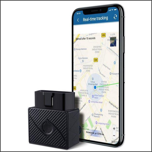 Трекер и смартфон