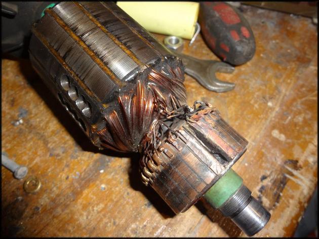 Разрушение ротора