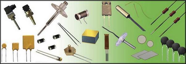 Ассортимент терморезисторов