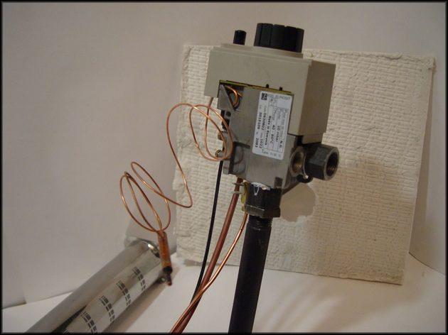 Монтаж пример капиллярный термостат