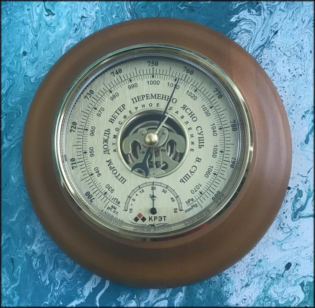 Настенный барометр русский