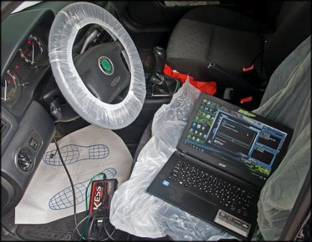 Подключение ноутбука настройка EGR