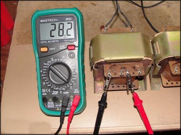 Проверка целостности трансформатора