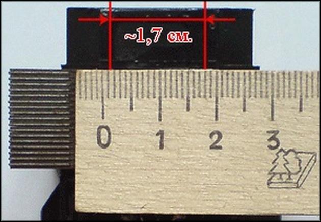 Измерение ширины трансформатора-2