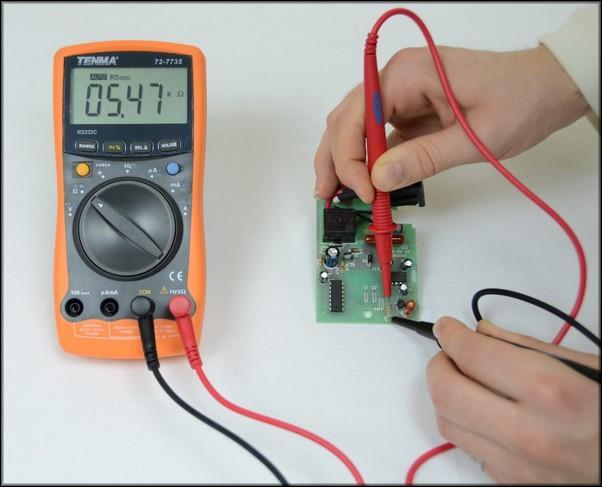 Измерения с помощью цифрового мультиметра