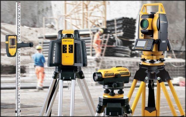 Измерительные устройства геодезистов