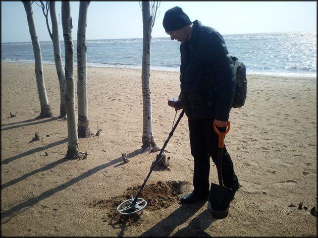 Поиск на пляже может принести дополнительный доход