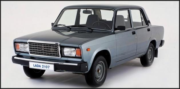 ВАЗ-2107 внешний вид