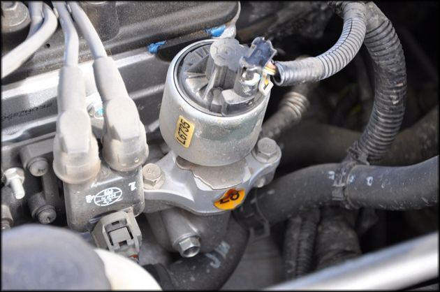 ЕГР клапан в автомобиле