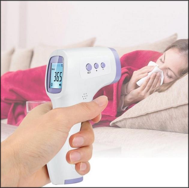 Почему используют бесконтактный термометр