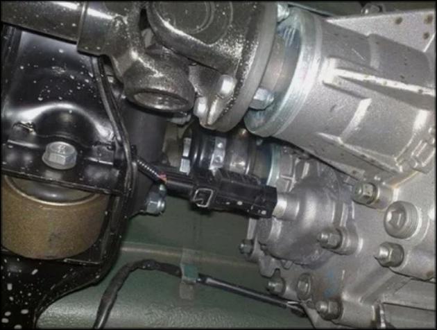 Модуль с датчиком скорости