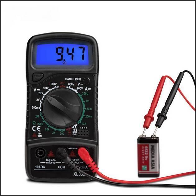 Мультиметр проверка емкости