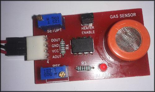 Модуль датчика газа