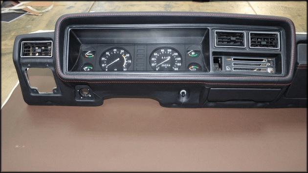 Панель автомобиля ВАЗ 2107