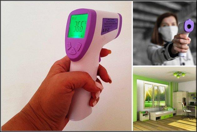 Преимущества бесконтактного термометра