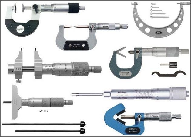 Разновидности микрометров