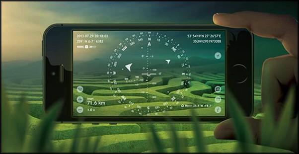 GPS функция гироскопа