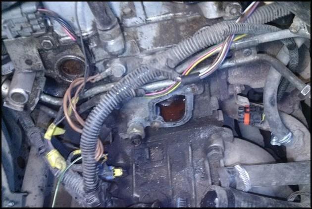 Демонтаж термостата