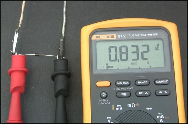 Проверка мультиметром диода