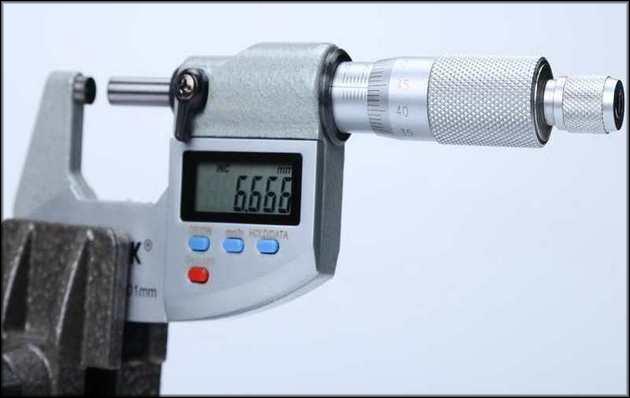 Цифровой микрометр