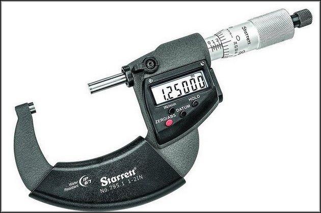 Гладкий микрометр
