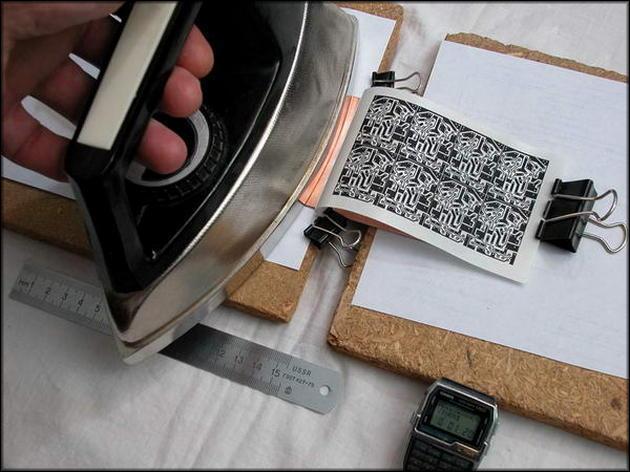 Изготовление печатной платы