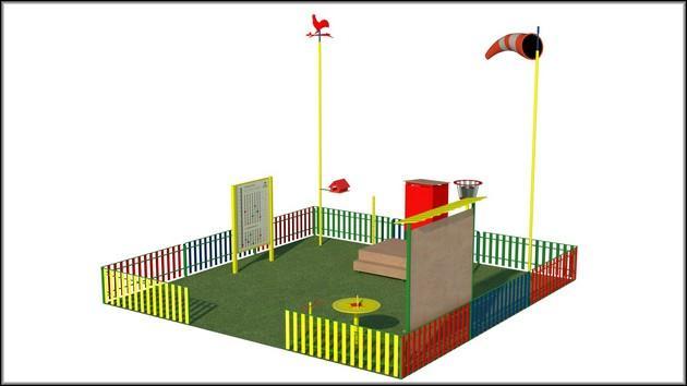 Метеостанция для детской площадки