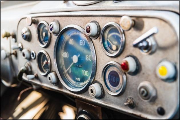Телеметрия старых автомобилей
