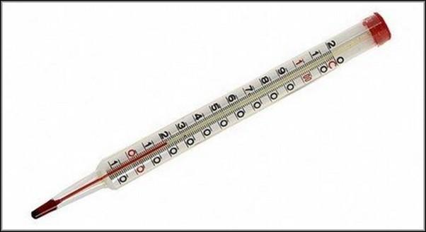 Обычный термометр