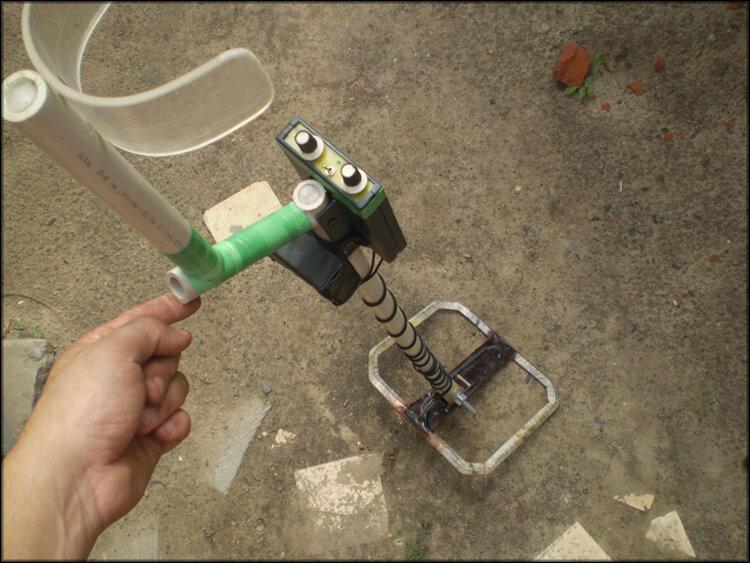 Собранный металлоискатель пример