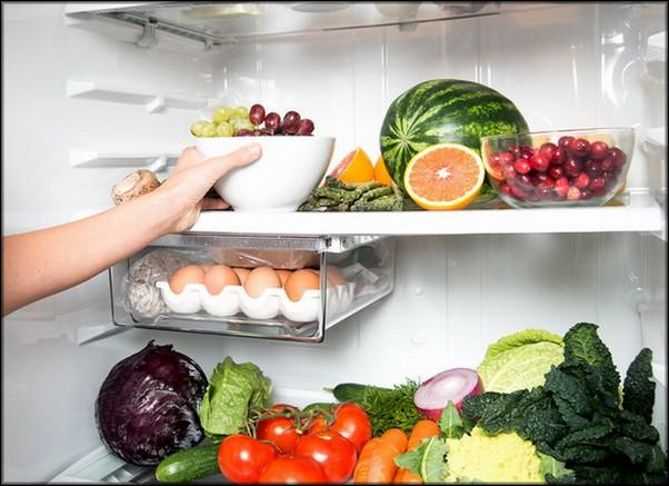 Заполнение холодильника