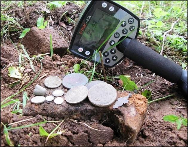 Иногда клад это всего несколько монеток