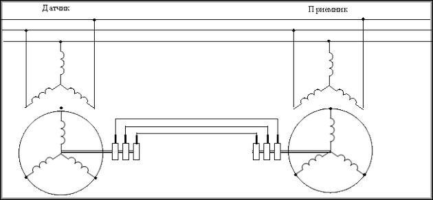 Схема с сельсином